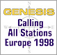 Genesis - Calling All Stations Tour 1998 - tour report