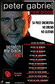 Peter Gabriel live - New Blood Tour 2010 / 2011 / 2012