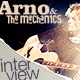 Arno Carstens Interview 2011 - the 3rd Mechanics singer