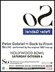 Peter Gabriel - Back To Front 2012 - North America Tour Report
