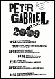 Peter Gabriel - Latin American Tour - tour dates 2009