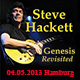 Steve Hackett - Hamburg: Genesis Revisited World Tour - concert report