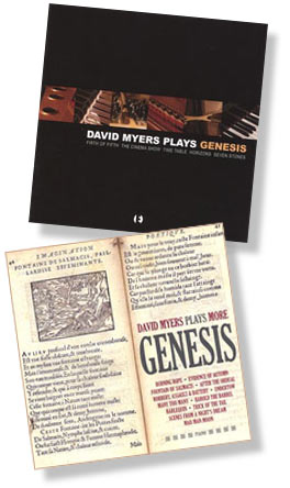 David Myers plays Genesis