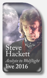 hackett tour 2016 Acolyte to Wolflight