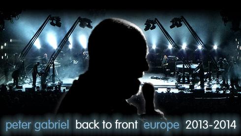 Peter Gabriel Tour Dates