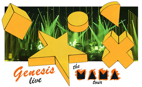 Genesis News Com [it]: Genesis - The Mama Tour - VHS video review