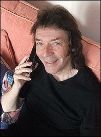 Steve Hackett Phone interview 2013
