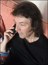 Steve Hackett phone interview