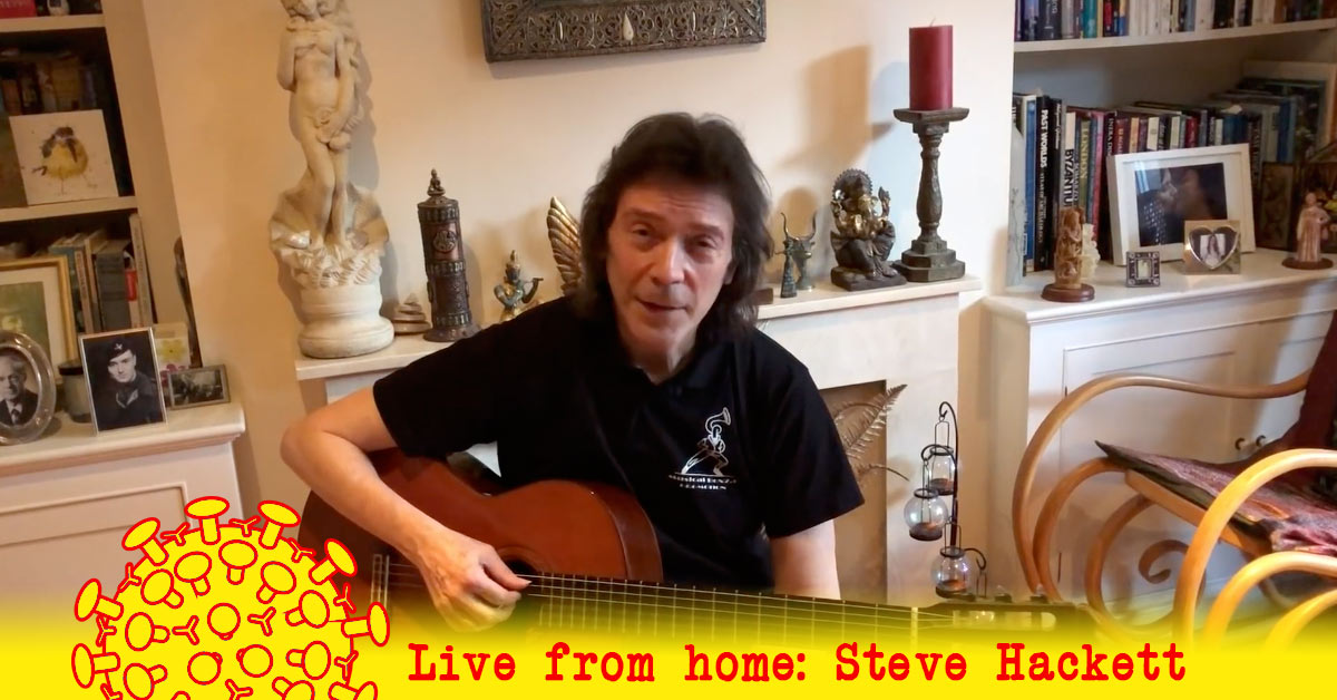 STEVE HACKETT - Acoustic Tracks from Home