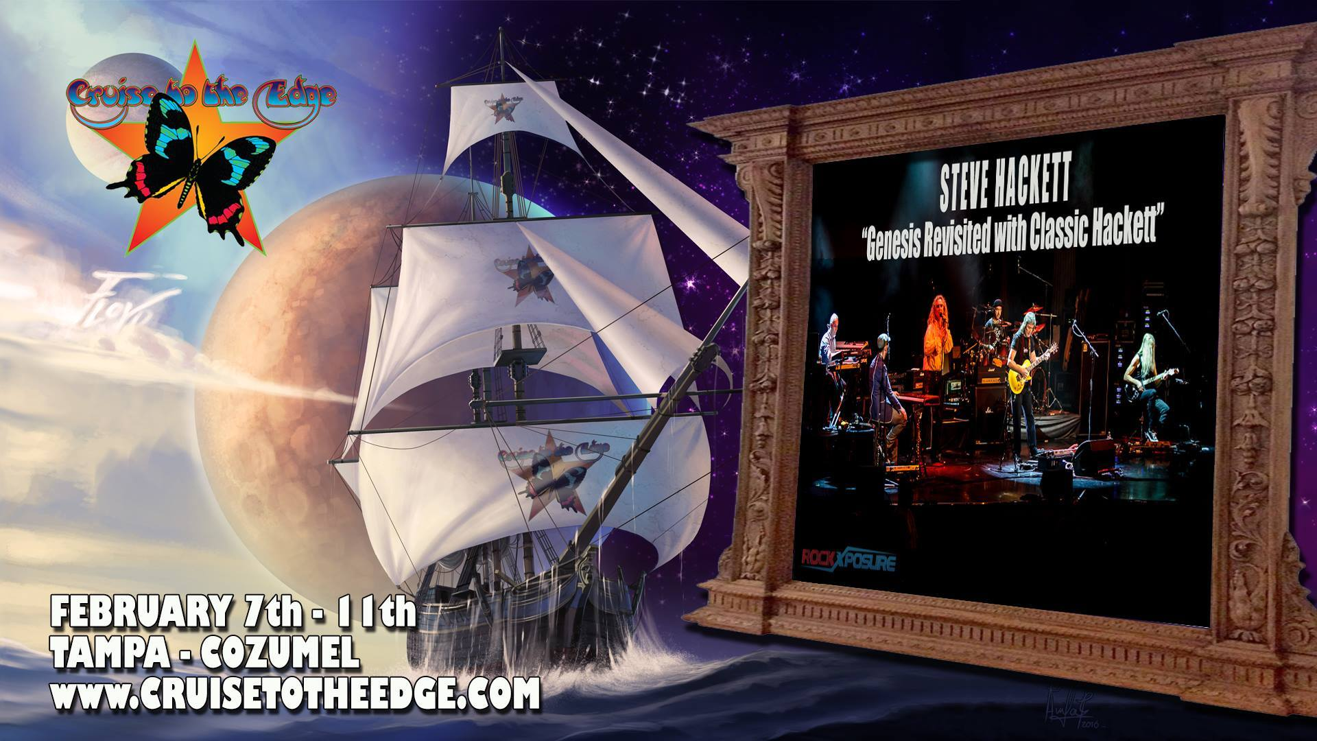 Cruise to the Edge 2017 feat. Steve Hackett