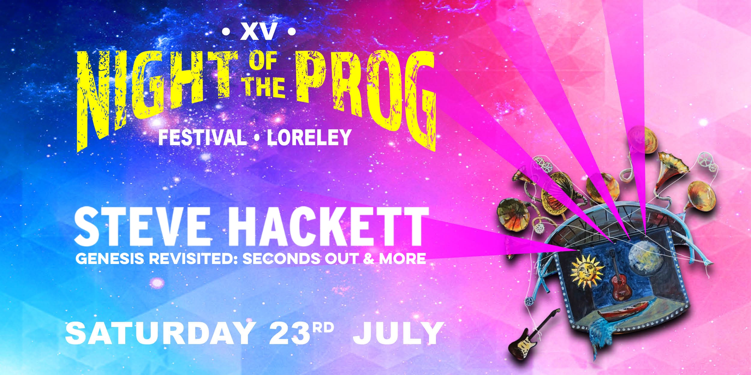 Steve Hackett Night Of The Prog