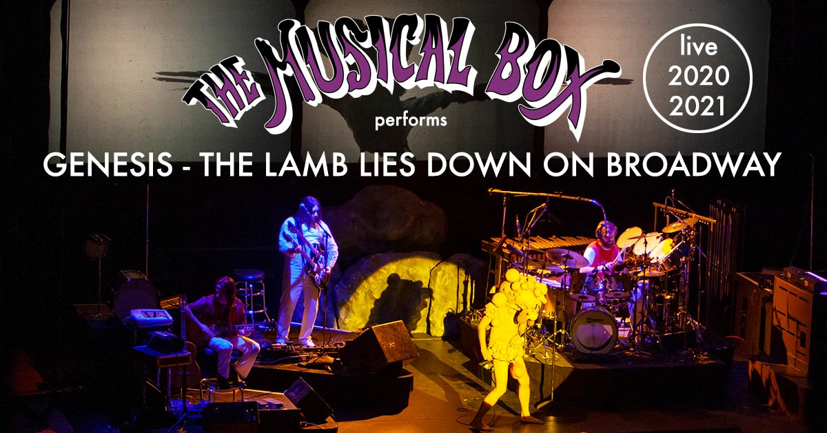 The Musical Box performs The Lamb Lies Down On Broadway