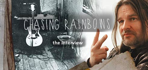 Ray Wilson CHasing Rainbows Interview in Dresden 2013